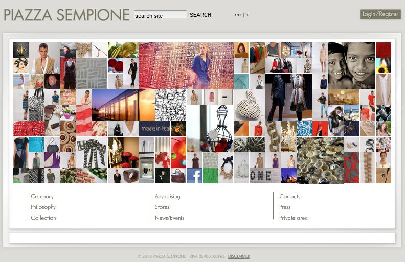 Piazza Sempione Home Page